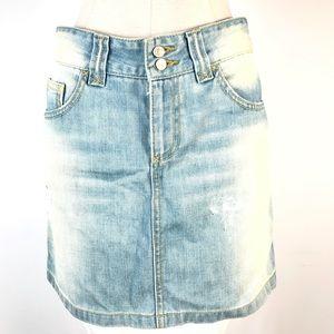 Sisley denim skirt